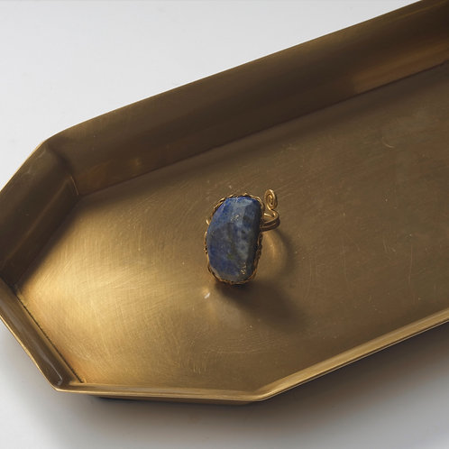 Stone Ring 2 (Lapis Lazuli)