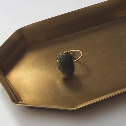 Stone Ring (Chrysocolla)