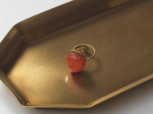 Stone Ring (Carnelian)