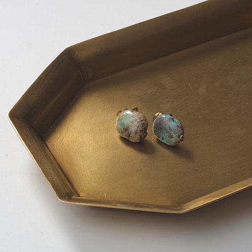 Stone Earring (Turquoise)