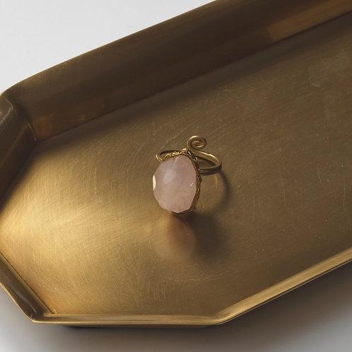 Stone Ring (Rose Quartz)