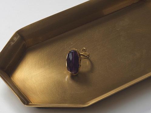 Stone Ring (Amethyst)