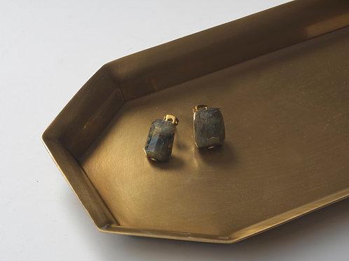 Stone Earring (Chrysocolla)