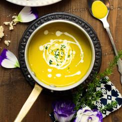 Hearty Warm Pumpkin Soup