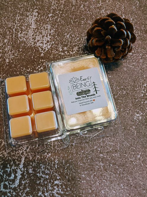 Into The Woods soy wax melts