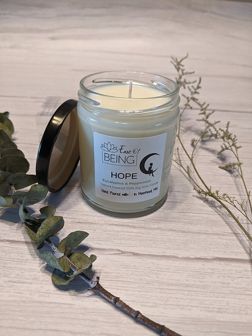 Hope soy wax candle