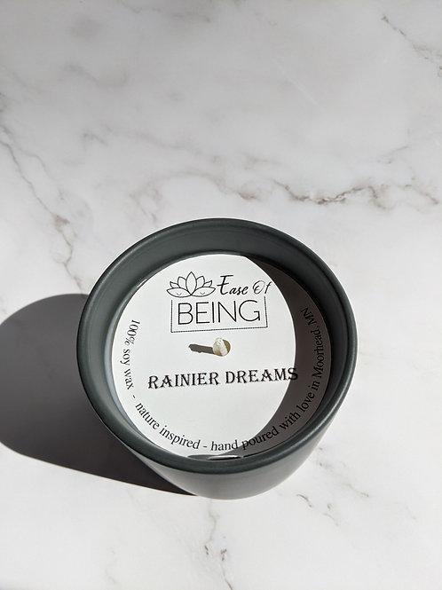 Rainier Dreams soy wax candle