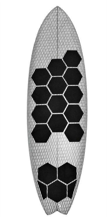 HEX PAD Traction set of 17