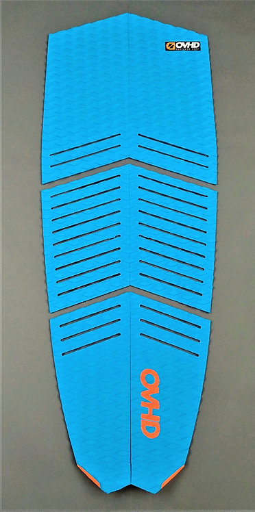 OVHD Blue Kiteboard Traction Pad/Surf