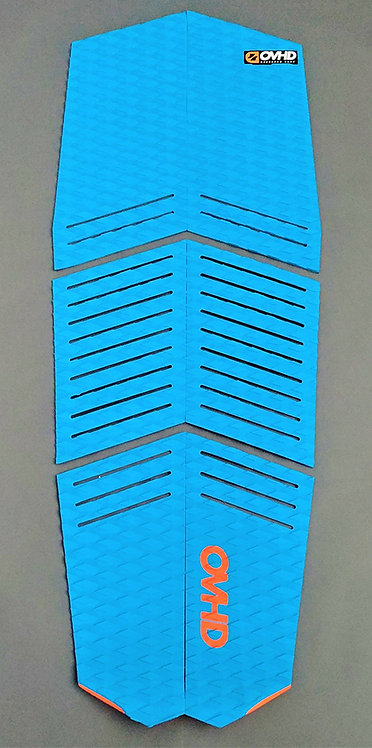 OVHD Kiteboard Stubby Blue Traction Pad