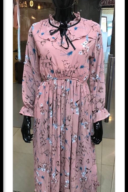 Floral Full sleeve Dress