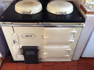 50 year old Aga cleaned in Bromley, Kent
