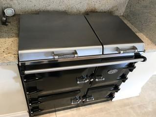 Everhot range cooker