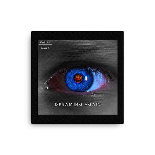 Dreaming Again Artwork 16x16 Canvas
