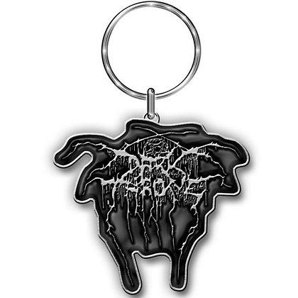 keychain llavero banda darkthrone logo de metal
