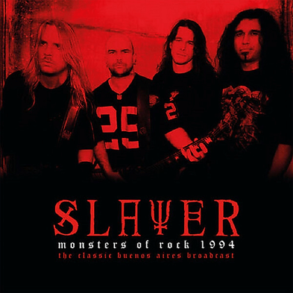 SLAYER - Monsters of Rock 1994