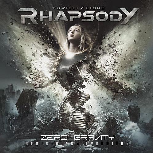 RHAPSODY, TURILLI/LIONE  Zero Gravity (Rebirth and Evolution) CD