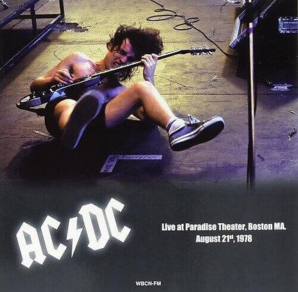 AC/DC - Live at Paradise Theater Boston