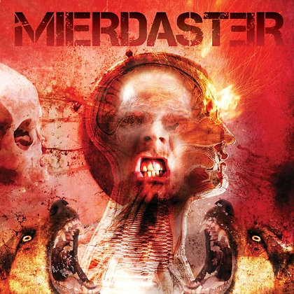 CD chilean metal band MIERDASTER La Furia