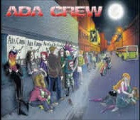 CD chilean metal band ADA CREW Coming to Town