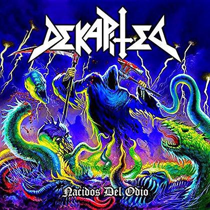 CD chilean metal band DEKAPITED Nacidos del Odio