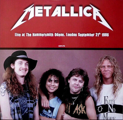 METALLICA - Live at the Hammersmith Odeon 1986