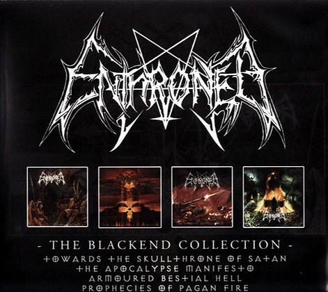 ENTHRONED - The Blackend Collection