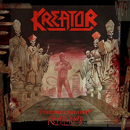 boxset cover thrash metal band KREATOR Terrible Certainty