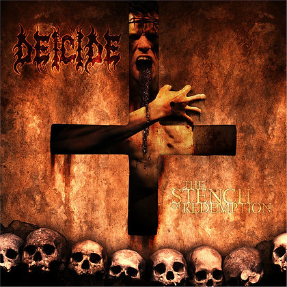 CD death metal band DEICIDE The Stench of Redemption cover
