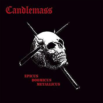 vinyl cover epic doom metal band CANDLEMASS Epicus Doomicus Metallicus