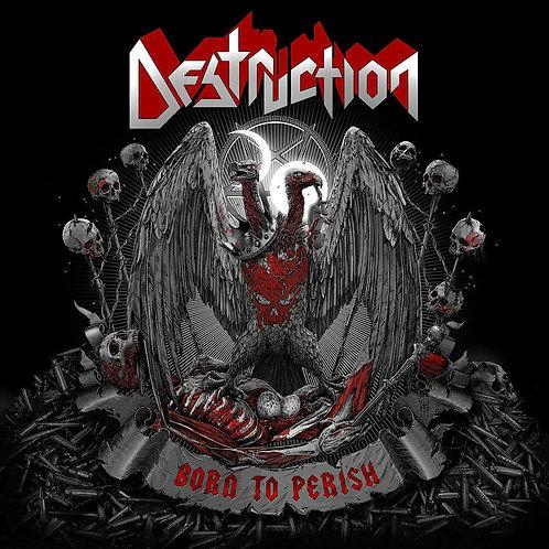 DESTRUCTION Born to Perish CD DIGI