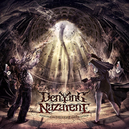 Vinyl LP chilean metal band DENYING NAZARENE Possessed by the Light and Deception