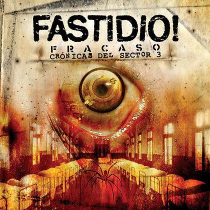 CD chilean metal band FASTIDIO! Fracaso Cronicas del Sector 3