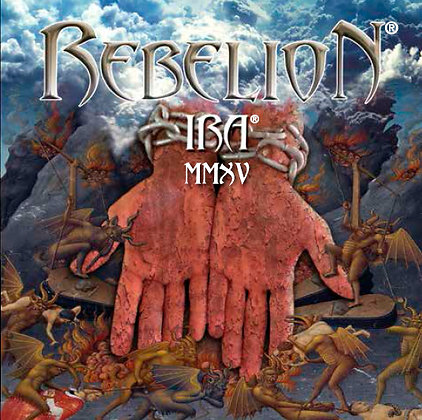 CD chilean metal band REBELION Ira