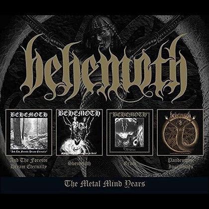 BEHEMOTH - The Metal Mind Years