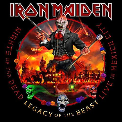 IRON MAIDEN - Nights of the Dead Legacy of the Beast
