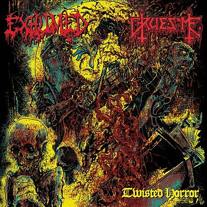EXHUMED / GRUESOME - Twisted Horror