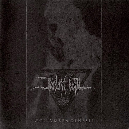 Cd chilean metal band THE LAST KNELL Aeon Vmbra Genesis