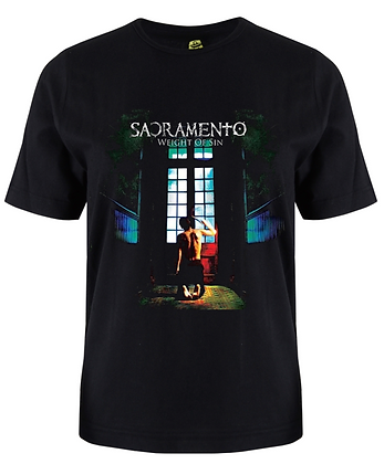 black shirt polera negra SACRAMENTO Weight Of Sin