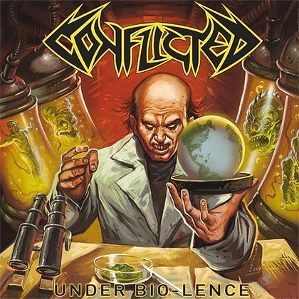 CD chilean metal band CONFLICTED Under Bio-lence