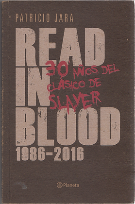 Book libro PATRICIO JARA - Read in Blood front