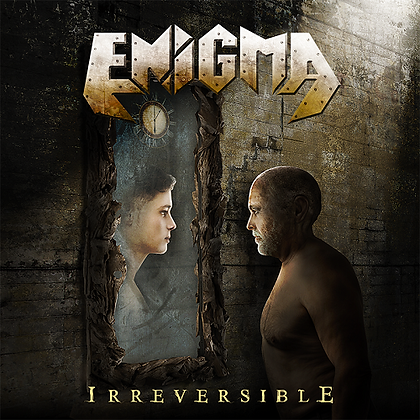 CD chilean metal band ENIGMA Irreversible
