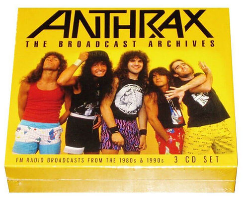 ANTHRAX - The Broadcast Archives
