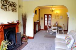 Park View Cottage Afonwen living room