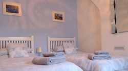 Park View Cottage Afonwen twin bedroom