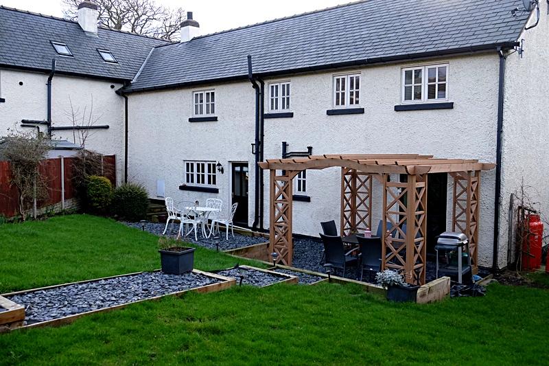 Rear garden Summerhill Court