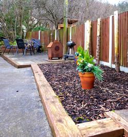 Park View Cottage Afonwen private garden 2