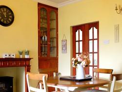 Park View Cottage Afonwen dining ar 2ea