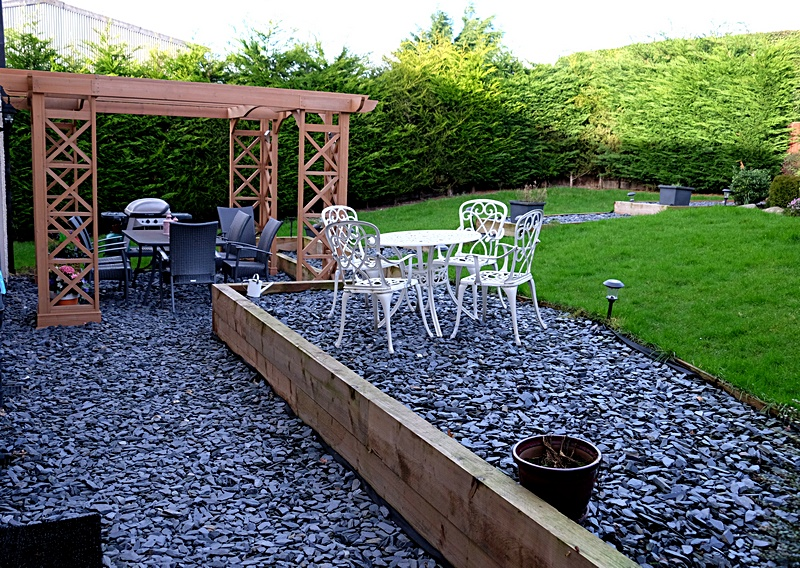 Patio and seating area