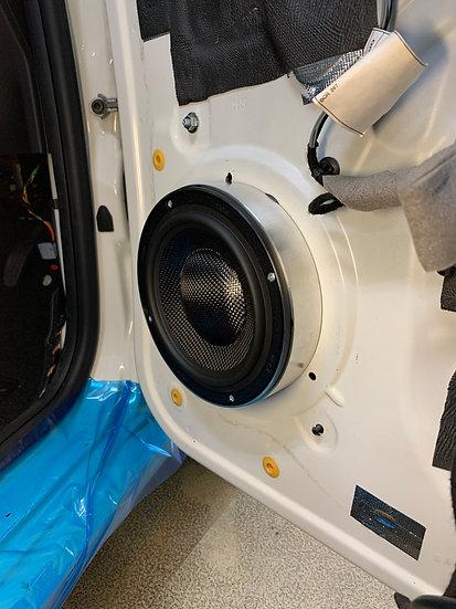 40mm Speaker Adaptor Rings for Audio Circle B2-W6